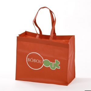 Stitched non-woven bags