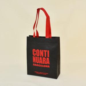 Non laminated heat-sealed non-woven bags