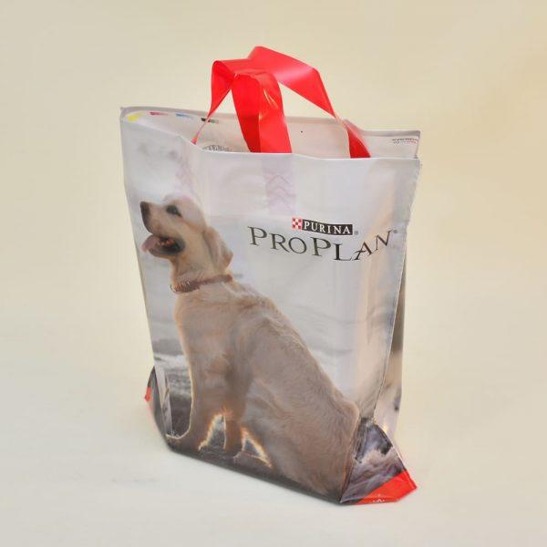 Flexible handle bags