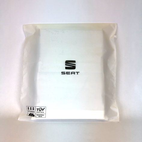 Personalized compostable bags