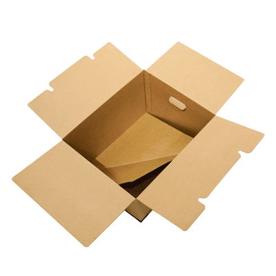 2in1® Plus box with handles