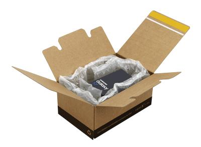 Cajas de cartón ecommerce con solapa
