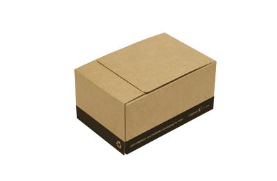 Cajas de cartón ecommerce reutilizable componentes