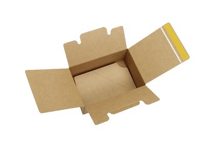 Cajas de cartón ecommerce reutilizable botellas
