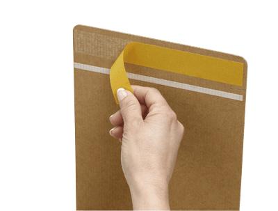 Cajas de cartón ecommerce reutilizable zapatos