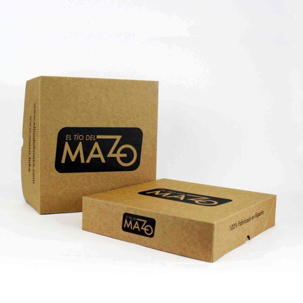 Kraft cardboard box