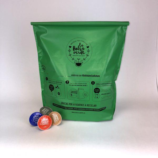 plastico reciclado bolsa dolce gusto