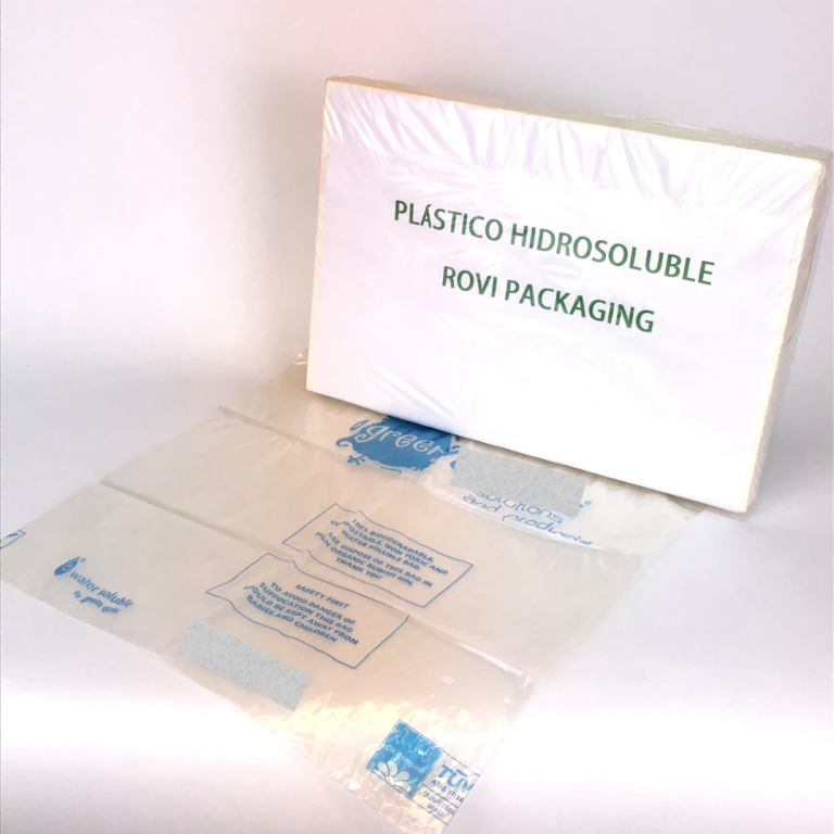 Water soluble bags