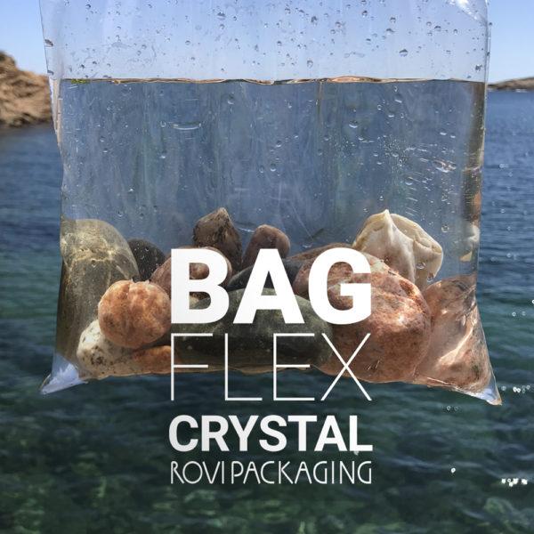 Bolsas de polipropileno cristal flexible bolsas de plástico transparente mar de fondo con dos manos