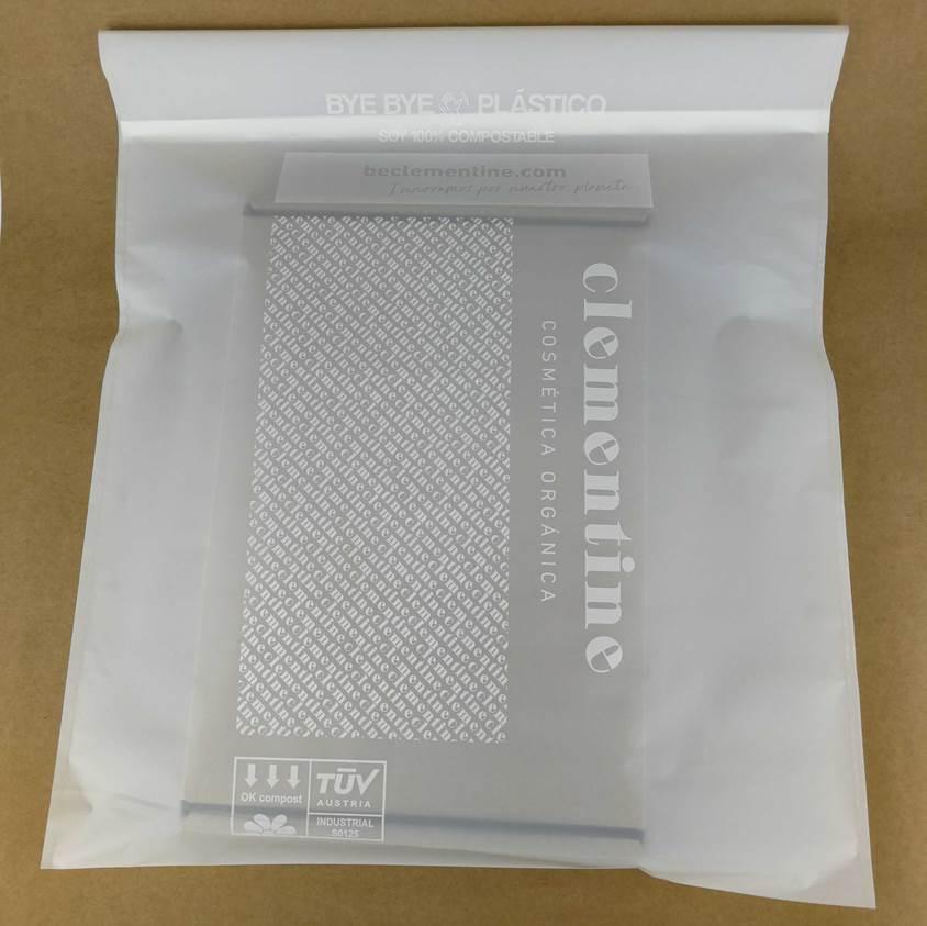 fábrica de bolsas compostables Clementine bye bye plástico Compostable bags manufacturer