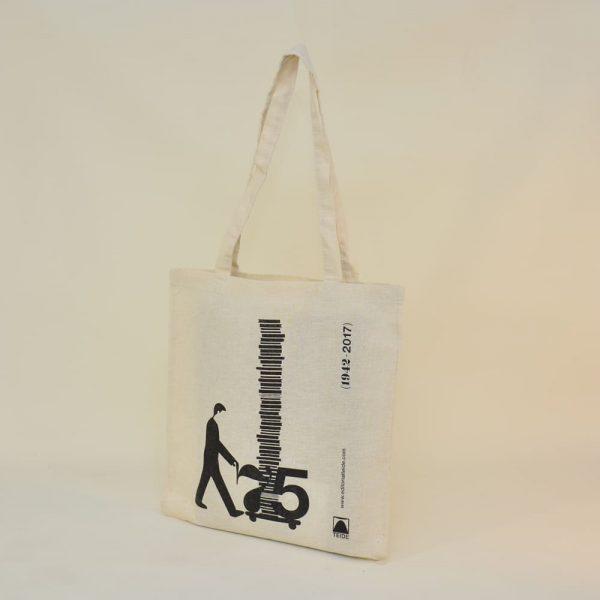 Bolsas de algodón editorial Teide