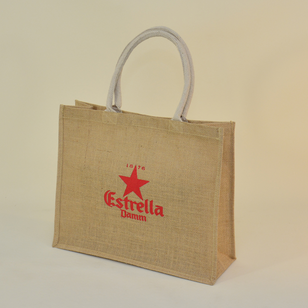 bolsas de tela reutilizables reciclables de algodón jute yuco