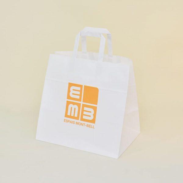 Bolsa de papel Mont Bell asa plana