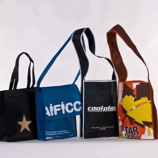 Bolsas de TNT cosido