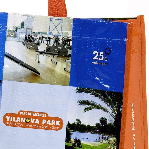 Bolsas de rafia Camping Vilanova