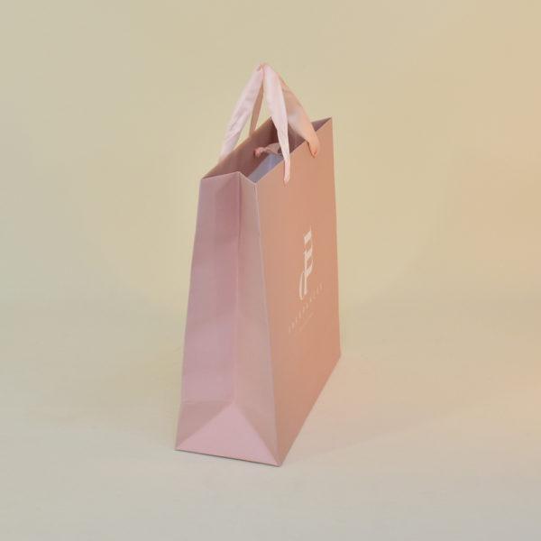 Bolsa de papel asa cuerda fragancia