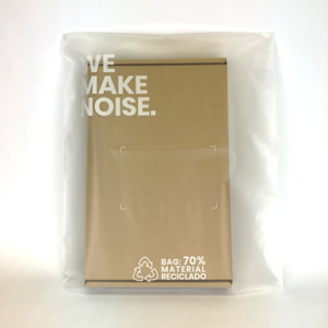 Bolsa plastico reciclado we make noise