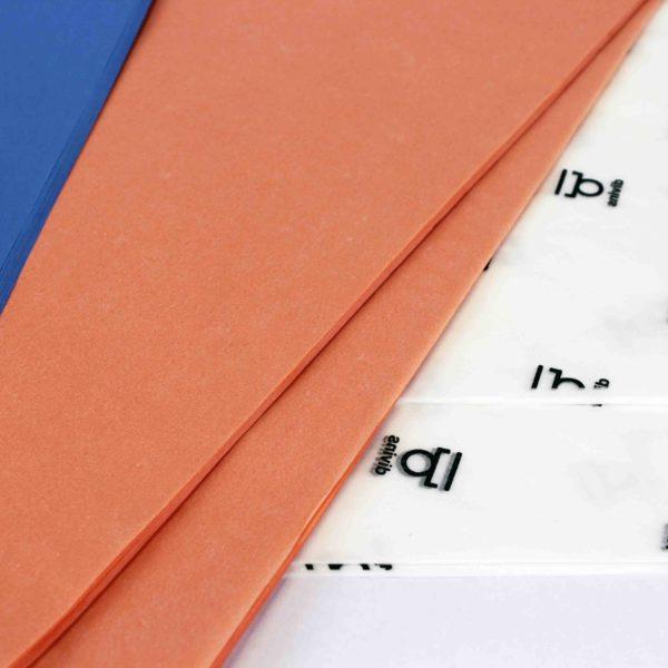 Detalle papel de seda