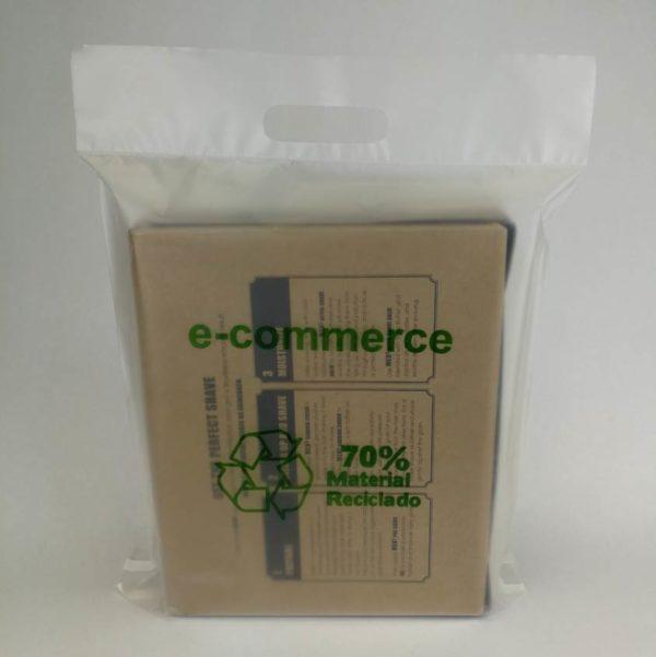 Sobres plástico reciclado ecommerce