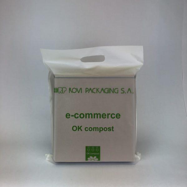 sobres ecommerce compostables rovi