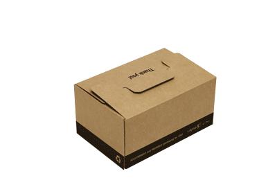 Cajas de cartón ecommerce reutilizable