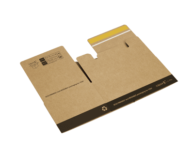 Cajas de cartón ecommerce plegables