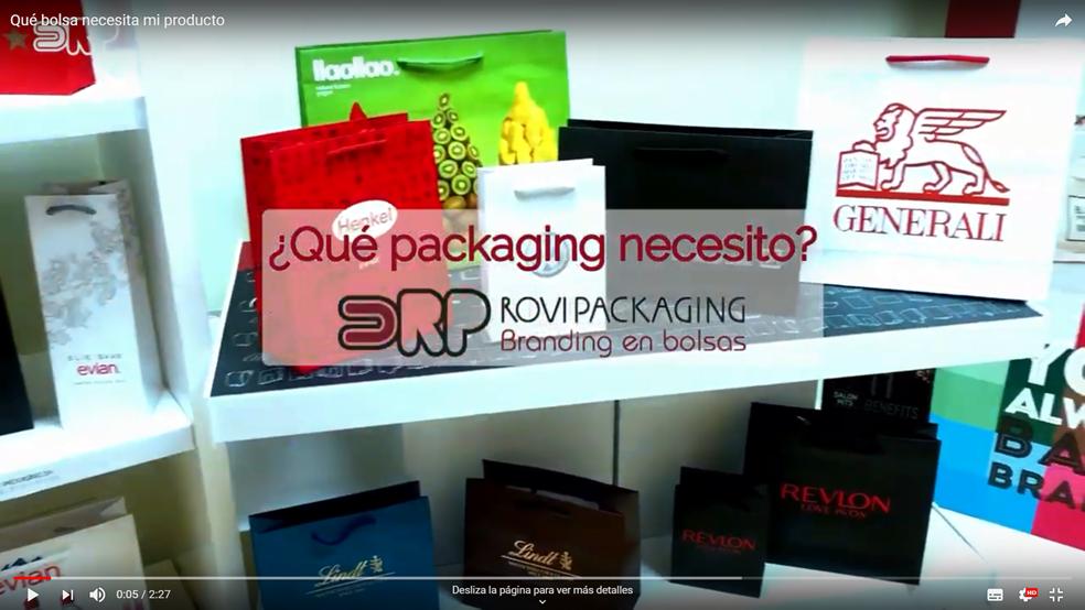 Qué packaging es ideal para mi producto