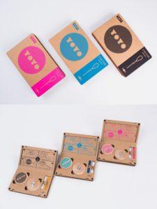 Packaging utilizando el contenido