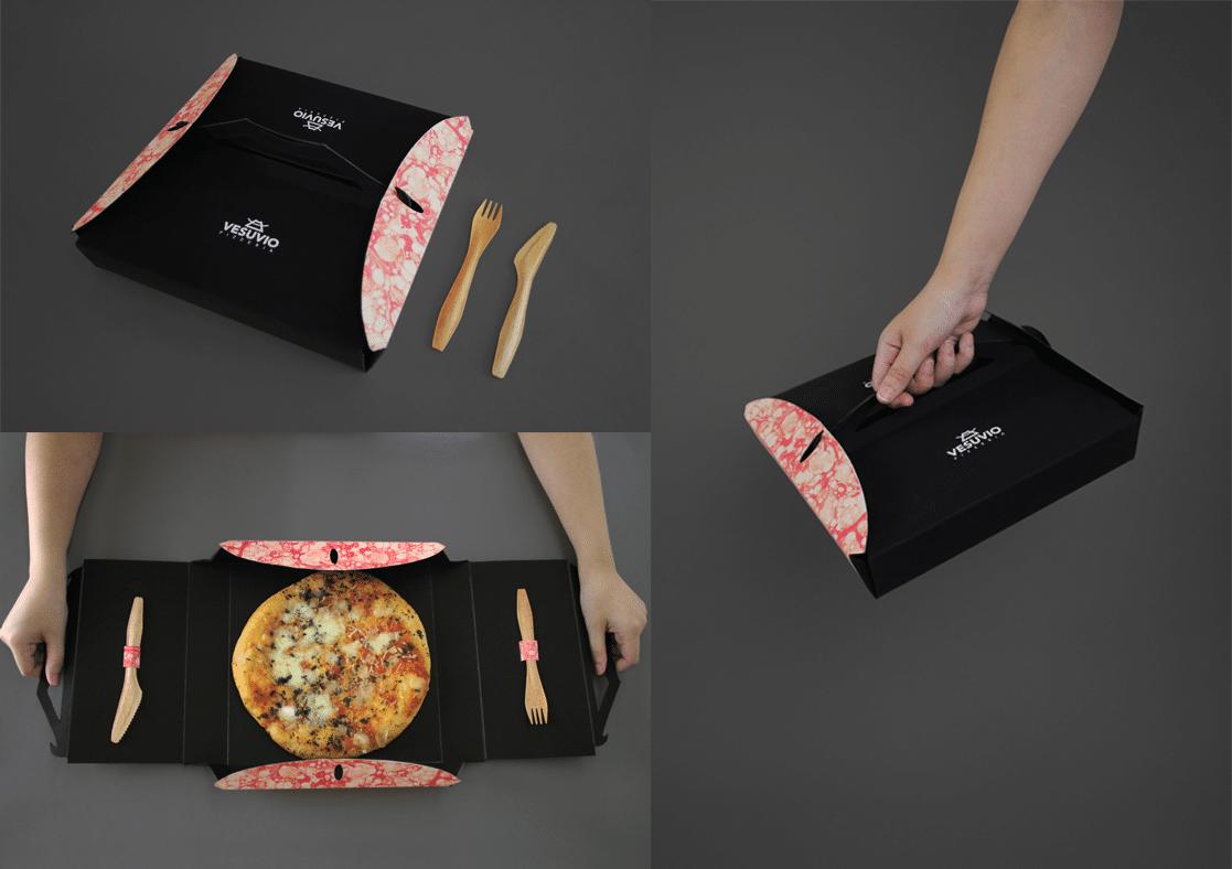 packaging para comida rápida