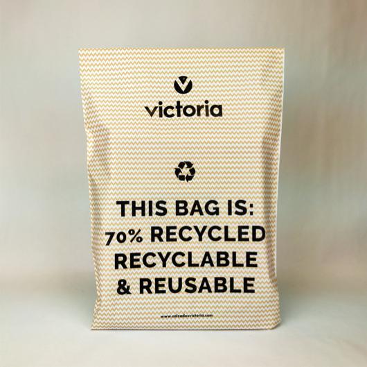 Bolsas para envío de ropa recicladas ecommerce